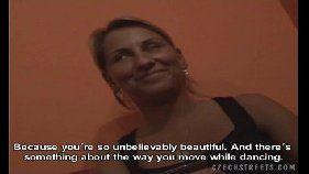 Coroa safada tcheca em vídeo amador fudendo