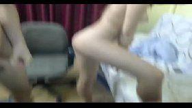 Amadores transando na webcam