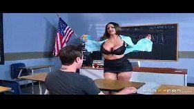 Aluno safadão enrabando a professora sem vergonha