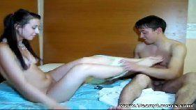 Novinha safada dando prazer para o namoradinho