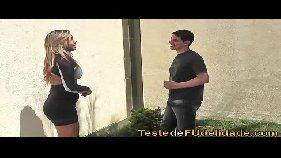 novinha brasleira casada transando com jardinheiro