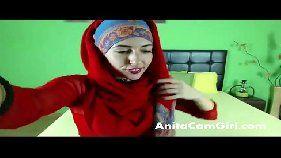 Vidiodesexo garota muçulmana seduzindo para sua camera amadora