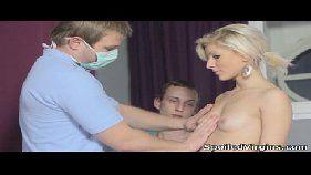 Loira virgem do sex hot dando sua buceta