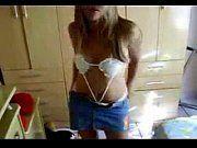 Amadora safada tirando a roupa