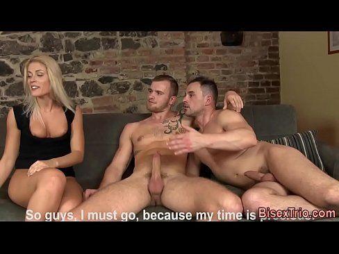 Sexohot com gays transando com a loira