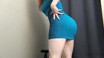 Ninfeta Ruiva se mostrando na webcam